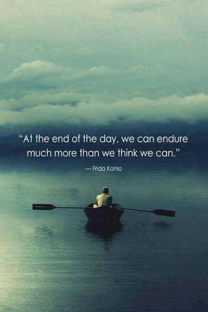 endure more than we think